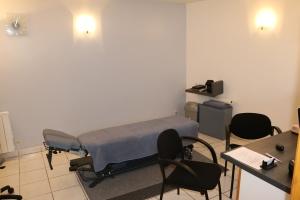 Salle de consultation du Cabinet d'ostéopathie d'Herblay